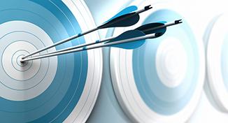 Image of bulleye arrows
